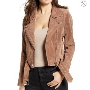 Blank nyc real suede jacket size XS